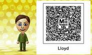Mii Tomodachi Life QR Lloyd Virgil Christmas