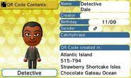 Detective Dale QR Code Contents