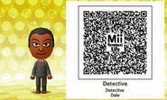 Detective Dale Mii Tomodachi Life QR