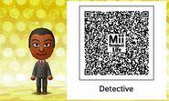 Mii Tomodachi Life QR Detective Dale
