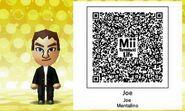 Joe Mentalino Mii Tomodachi Life QR