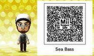 Tomodachi Life QR Sea Bass