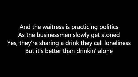 Billy Joel - Piano Man Lyrics