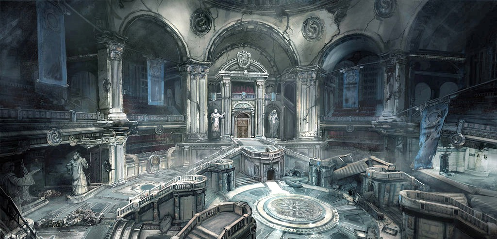 Citadel of the Lost/Courtroom