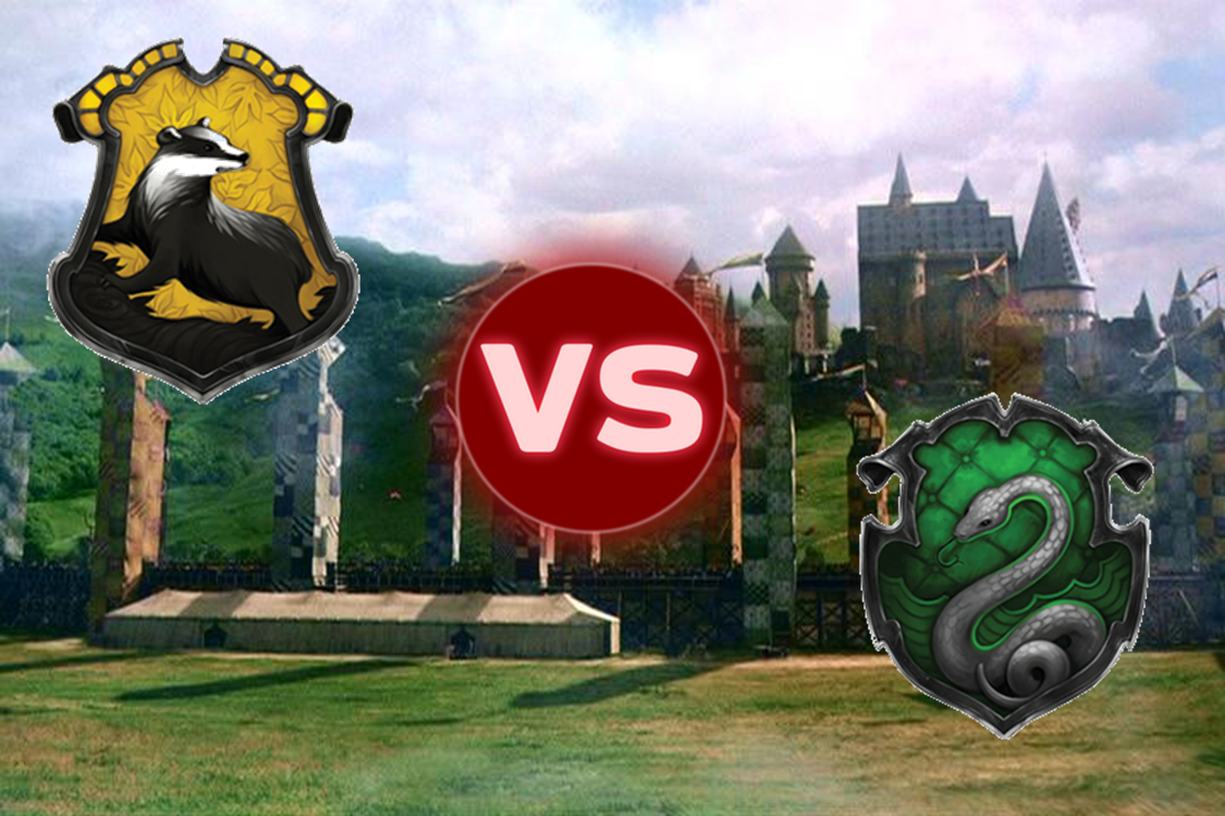 Hufflepuff VS Slytherin