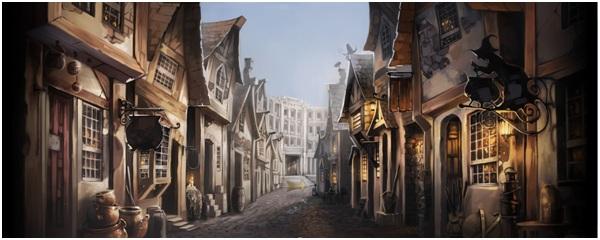 North Side Diagon Alley