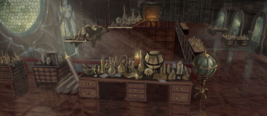 Citadel of the Lost/Apothecary