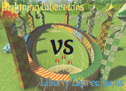Lightning Liberators VS Liberty Leprechauns