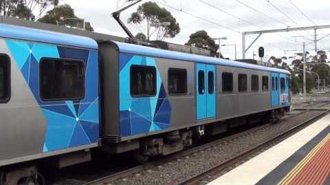 Metro trains around Melbourne 1