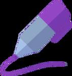 DWtDraw Purple Pen