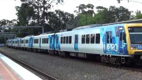 Metro trains around Melbourne 5