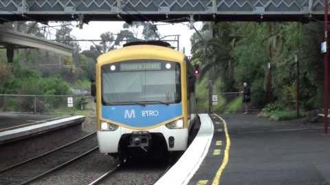 Metro trains around Melbourne 4