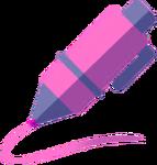 DWtDraw Pink Pen