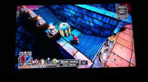 Dungeon Defenders - 400k XP (lvl to lvl 31) in less than 15min, any class, PS3