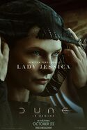 Dune Character Poster - Lady Jessica