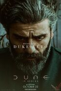 Dune Character Poster - Duke Leto