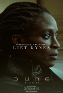 Dune Character Poster - Liet Kynes