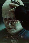 Dune Character Poster - Baron Harkonnen