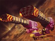 Guild Tug for Jodorowsky's Dune (1975) by Chris Foss references Pink Panther -21 (September 1974) published by Gold Key