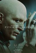 Dune Character Poster - Piter De Vries