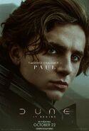 Dune Character Poster - Paul