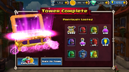 Full summary of the tower of pwnage loot
