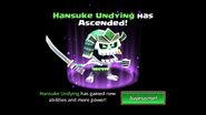 Hansuke Undying unascended
