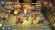 Malevolent Strike example