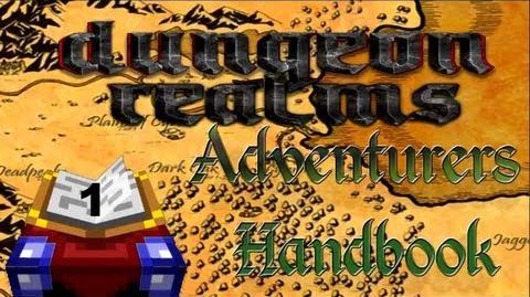 Dungeon Realms Adventurers Handbook - Lesson 1 - Basic Training