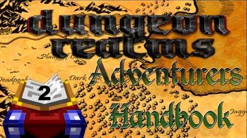 Dungeon Realms Adventurers Handbook - Lesson 2 - Player Shops