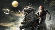 Red + white warrior by nedo