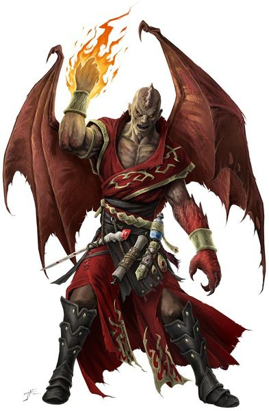 Dragonscarred (4e Race)