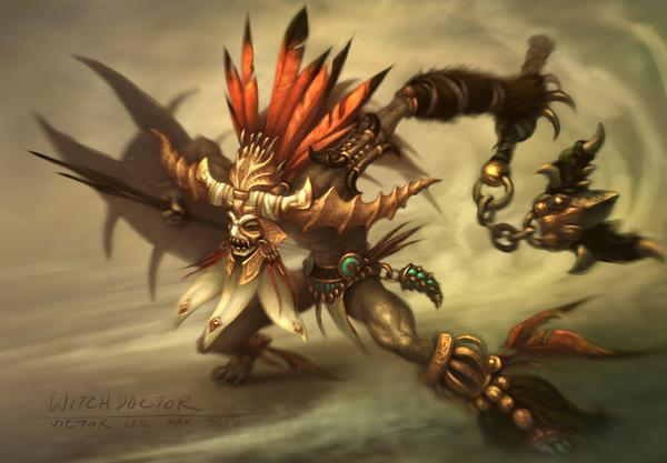 Witch Doctor (3.5e Class)