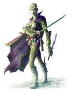 YuanTi Assassin by Jason Eagle