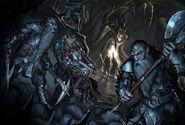 Duergar Abduction by BenWootten