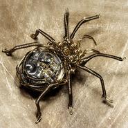 Steampunk Brass Spider
