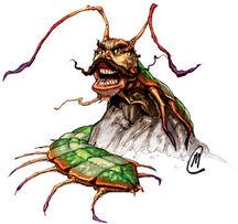 Spirit centipede