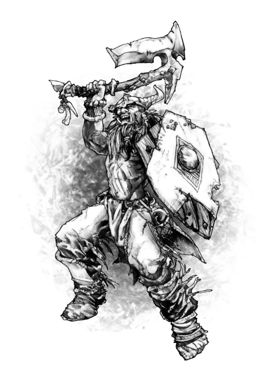Frost barbarian