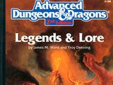 Legends & Lore (2e)
