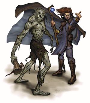 Summon undead (spell, 3e)