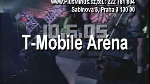 Duran Duran 2005 TV spot Czech Republic
