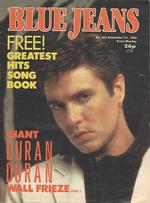 Blue Jeans Magazine 21 September 1985 No. 453 Simon Le Bon Duran Duran wikipedia com.png