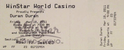 Winstar casino ticket duran duran.png