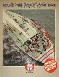 Withbread Round the World Yatch Race 85-86 official Souvenir programme Le Bon paper gods wikipedia Duran Duran.jpg