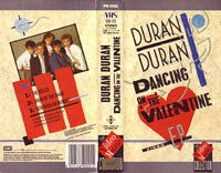 K 10 dancing on the valentine VHS · THE VIDEO MUSIC COLLECTION · UK · PM0001 duran duran wikipedia.jpg