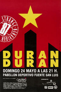999 Estadio Muncipal Fuente de San Luis, Valencia (Spain) - 24 May 1987 poster duran duran concer discogs wiki.jpg