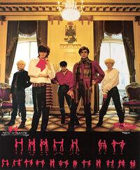 New Romantic Japanese promo poster duran duran 1981.jpg