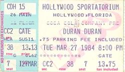 Ticket duran duran hollywood sportatorium hollywood florida march 27 1984.png