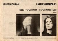 Careless memories single wikipedia duran duran advert.jpg