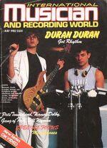 INTERNATIONAL MUSICIAN and recording world MAGAZINE wikipedia JULY 1982 DURAN DURAN COVER.jpg
